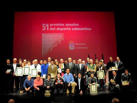 Ceremonía de los premios anuales al Deporte. Foto archivo.