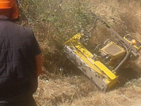 Máquina del proyecto Eco-Entresierras.