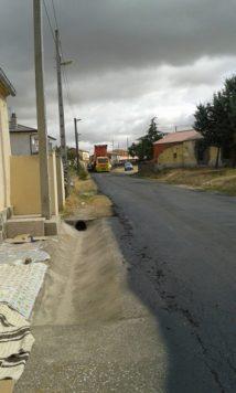 Obras en la carretera de La Tala. Foto Manuela Gómez