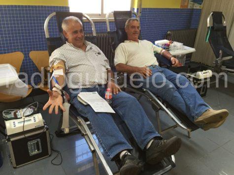 Donantes en el Centro de Salud de Guijuelo.