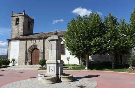 Iglesia Parroquial de Fuentes de Béjar. Foto minube.com.