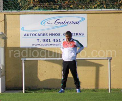 Mateo García, técnico del C.D. Guijuelo