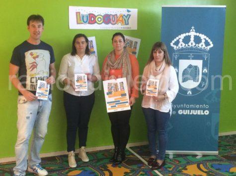 Presentación del IV Campeonato de juegos Ludoguay.