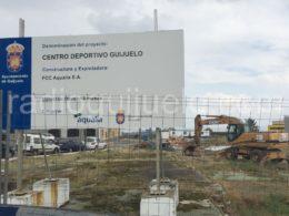 Solar donde se ubicará el nuevo centro deportivo de Guijuelo.