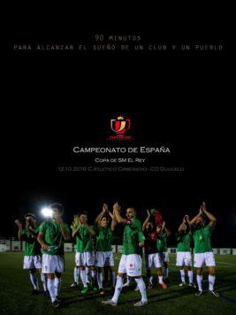 Partido Copa del Rey cartel