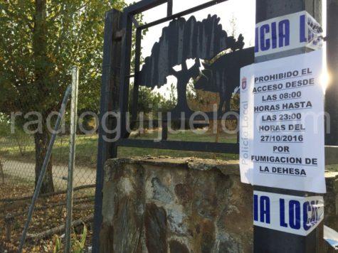 Entrada al parque de La Dehesa