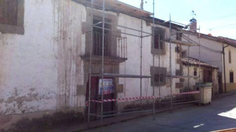 Casa Rectora de Puente del Congosto. Foto Asoaciación de Vecinos Puente del Congosto.