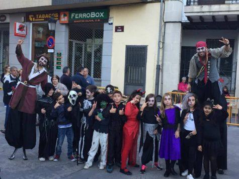 Halloween en en Linares. Foto Ayto. Linares
