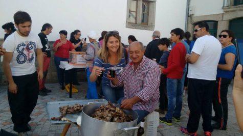 Fiesta del Otoño en Los Santos. Foto Casilda Merino