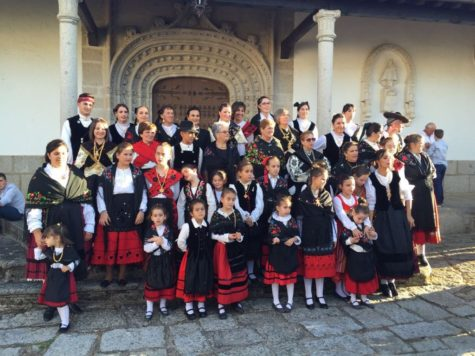 Fiestas en Santibañez de Béjar. Foto Diputación de Salamanca.