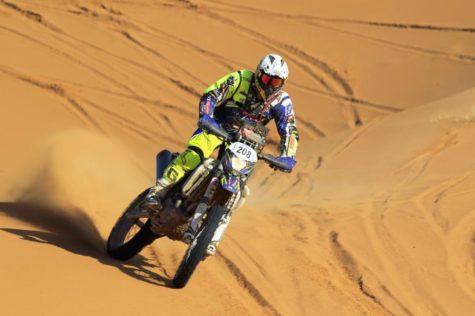 Cuarta etapa del rally de Marruecos.