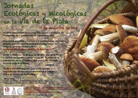 Cartel 2016 Jornadas Micológicas ACASAN.