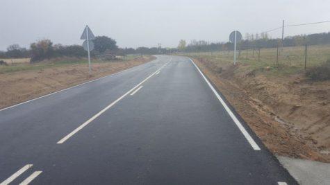Carretera DSA-252. Foto La Gaceta.