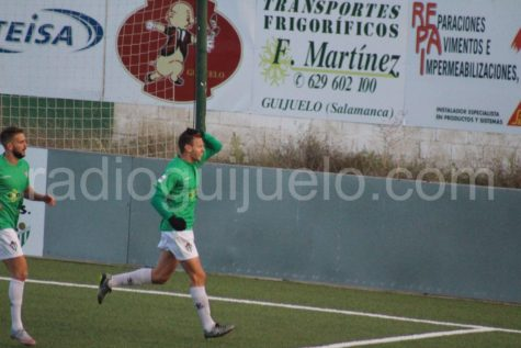 Carmona autor del gol ante la Arandina.