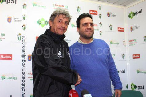 Jordi Fabregat junto a Jorge Hernández