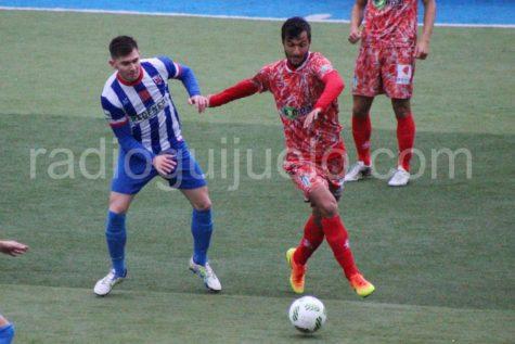 Jorge Juliá en un partido anterior.