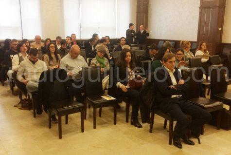 Público asistente a las jornadas informativas de Eulen