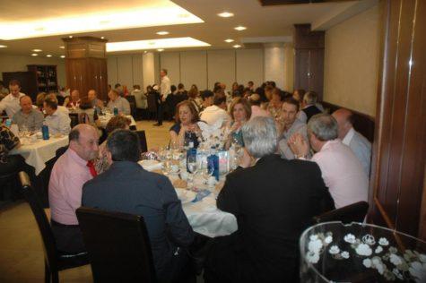 Asistentes a la primera cena de la AECC de Guijuelo