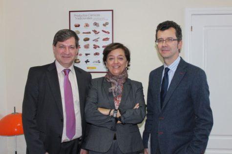 J.C. Tejero, E.Orellana y J.Mate. Foto Anice.