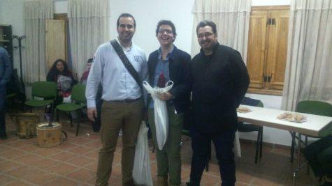 Ganadores del certamen de tamborileros. Foto A.V.