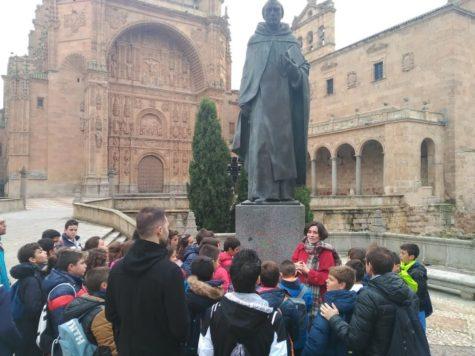 Alumnos del Miguel de Cervantes en Salamanca