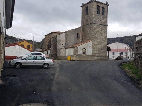 Una calle de Ledrada. Foto Ayto. Ledrada