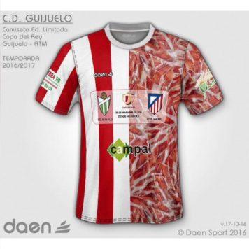 Camiseta conmemorativa C.D. Guijuelo