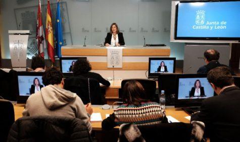 Rueda de prensa posterior al Consejo de Gobierno. Foto Junta CyL.