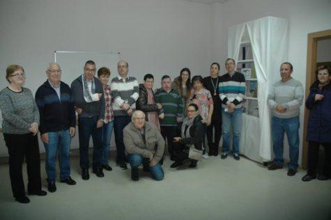 La Asociación de Discapacitados de Guijuelo junto a sus familiares