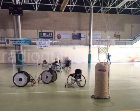 Jornada de Deporte Adapatado en el Pabellón de Guijuelo