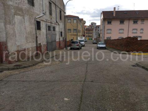 Una calle del Barrio San Miguel
