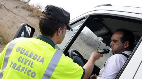 Campaña especial de tráfico DGT. Foto abc.es