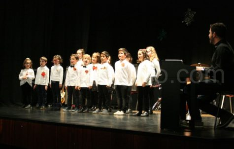 Grupo de coro de la Escuela Municipal de Música.