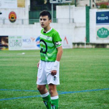 Un jugador del C.D. Guijuelo. Foto I.C.