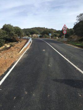 Carretera DSA-252. Foto Diputación de Salamanca
