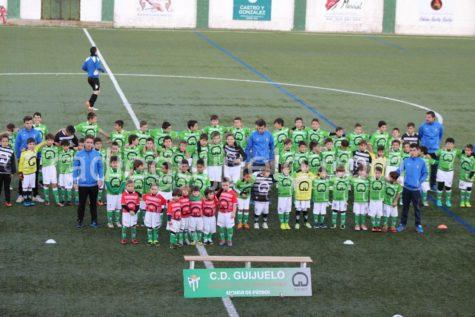 Presentación de los equipos de fútbol 7 de fútbol base.