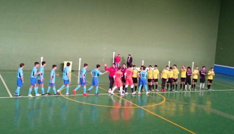 Partido entre el F.S. San José y el Alhambra juvenil. Foto F.S. San José