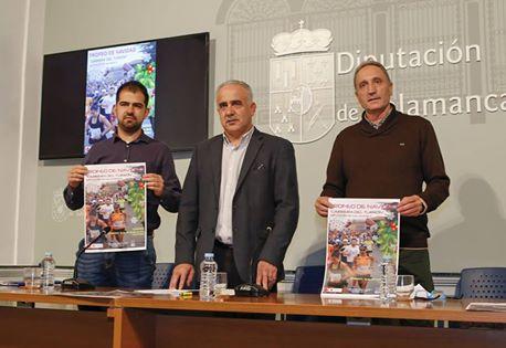 Presentación de la carrera del turrón en Diputación de Salamanca.