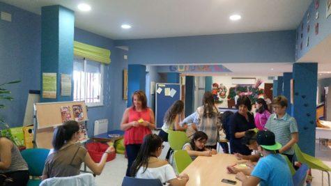 Jóvenes en el Centro Juvenil de Guijuelo. Foto archivo