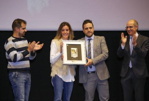 El C.D. Guijuelo recogió el Salina de Honor en los premios Diputación.