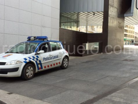 Coche Policia Local de Guijuelo