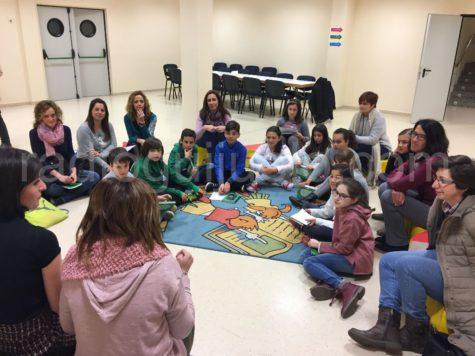 Sesión del club de lectura de los Duendes