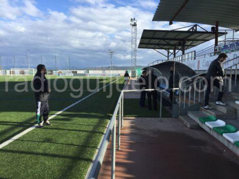 Nuevo banquillo del Municipal de Guijuelo