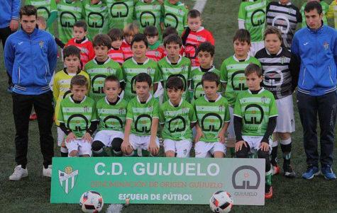 Benjamin B del CD Guijuelo. Foto Escuela C.D. Guijuelo