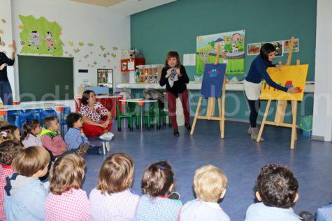 Emociona-Te con la lectura en la Escuela Infantil de Guijuelo