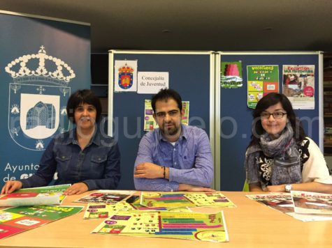 Presentación de la agenda del mes de abril de Guijuelo Joven