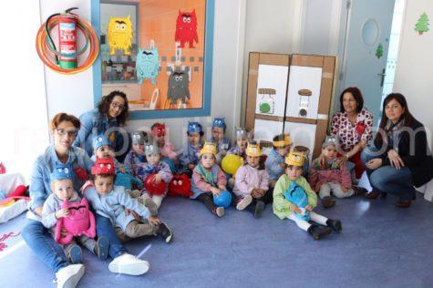 Taller 'El Monstruo de Colores' en la Escuela Infantil de Guijuelo