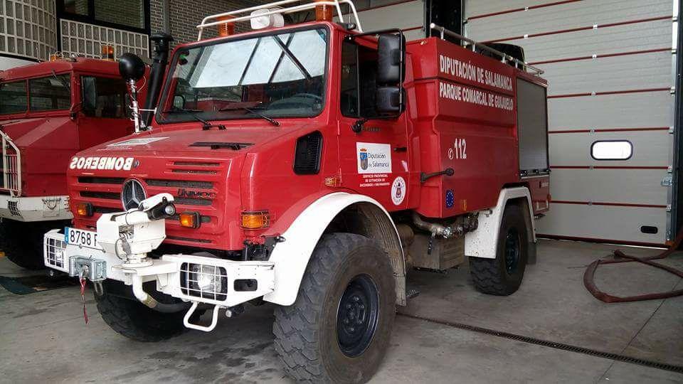 Camión de Bomberos. Foto Bomberos Guijuelo