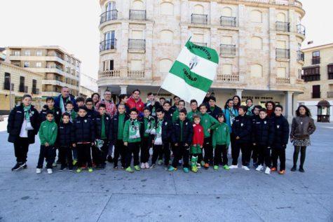 La cantera animó al primer equipo. Foto C.D. Guijuelo