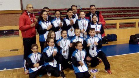 Equipo Infantil de Castilla y León. Foto C.D. La Luna